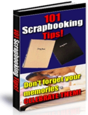 Product picture 101 Scrapbooking Tips (PLR)