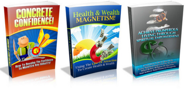 Product picture 3 PLR eBook - Concrete Confidence, Health & Wealth Magnetism